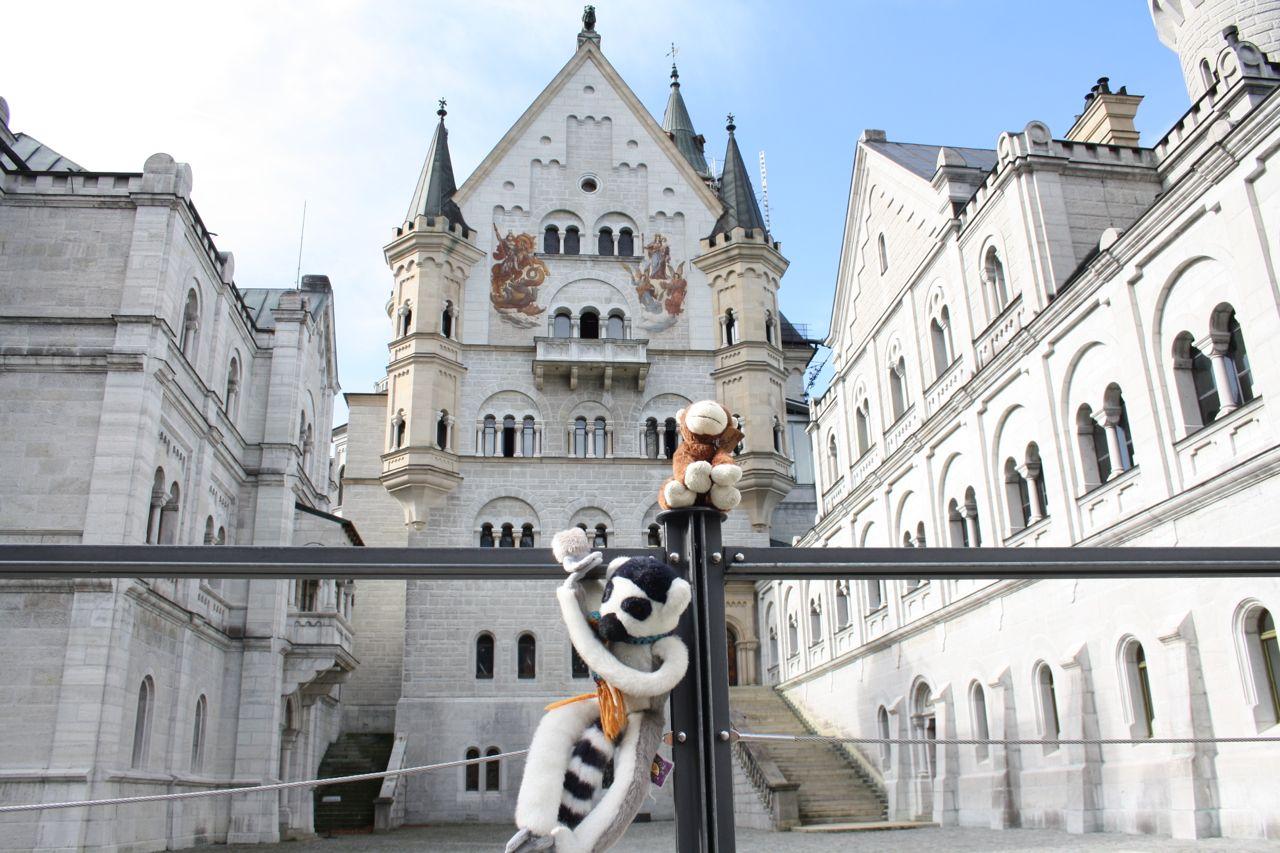 Pepe and Paco at Neuschwanstein