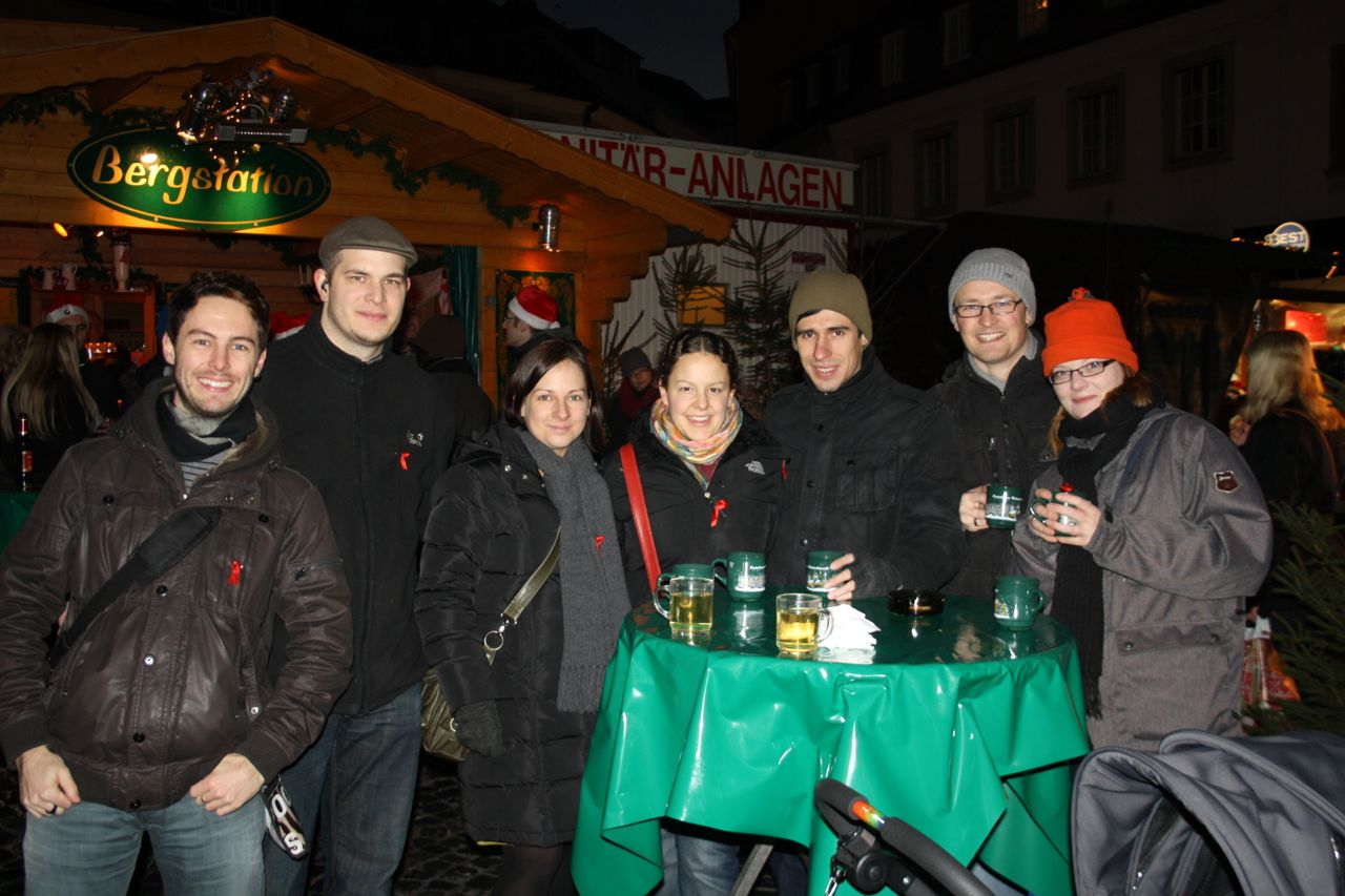 The Christmas market in Paderborn