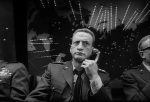Scene from Dr. Strangelove, copyrighted by the original owner.